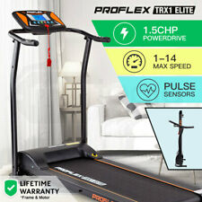 New PROFLEX Electric Treadmill Exercise Fitness Equipment Home Gym Machine TRX1