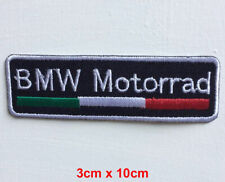 BMW Motorrad italy logo badge clothes Iron on Sew on Embroidered Patch