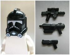 Custom CLONE COMMANDER Pack for Lego -ARC Hammer Shadow Helmet + 3 Blasters