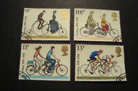 GB 1978 Commemorative Stamps~Cycling~Very Fine Used Set~UK Seller
