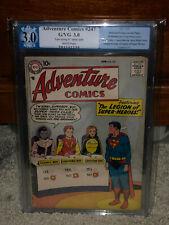 Adventure Comics #247 PGX 3.0 1958 1st Legion Super-Heroes! Free CGC Mylar! cm