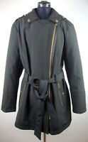 MICHAEL KORS Trenchcoat Mantel Jacke Parka Damen Jacket Black Gr.XL NEU