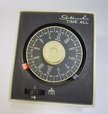 Vintage Intermatic Time-All Timer E-921 Lamp & Appliance Control Works!