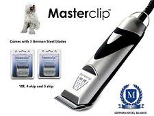 KOMONDOR cane Clippers Toelettatura Set con 3 lame da Masterclip Professional
