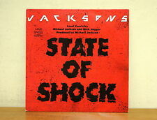 JACKSONS - State of Shock - Epic A 12.4431 - Michael Jackson - Mick Jagger