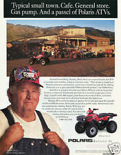 1995 Polaris XPlorer 4X4 ATV Quad Four Wheeler Print Ad