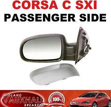 CORSA C 00-06 ELECTRIC WING MIRROR PRIMED PASSENGER NEAR SIDE SXI DESIGN LIFE