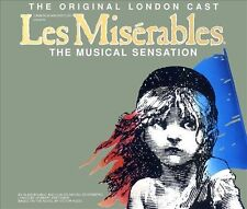 Les Misérables [Original London Cast Recording] by Original Soundtrack (CD, 2 Di