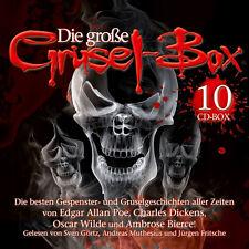 CD Große Grusel Box Das Gespenst von Canterville uvm 10CDs Poe, Dickens, Wilde