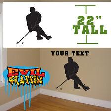 Hockey Wall Art, Personalized Hockey player Hockey players art,wall decor,hockey