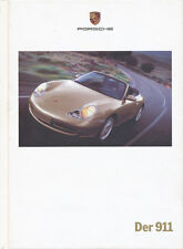 Porsche 911 Prospekt 1999 9/99 Autoprospekt brochure prospectus prospetto Auto