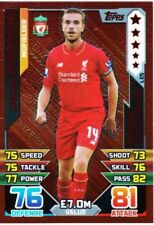 Premier League Liverpool Football Trading Cards 2015-2016 Season