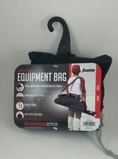 Franklin Sports Junior Black Equipment Bag Athletic Gym 34x9x6 inches