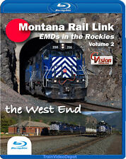 Montana Rail Link EMDs in the Rockies Volume 2 The West End BLU-RAY Mullan Pass