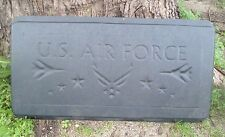 concrete mold bench top air force casting garden bench mould