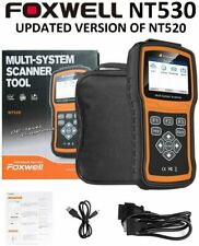 FOXWELL NT530 PRO GM CHEVY DIAGNOSTIC SCANNER TOOL AIRBAG ABS ENGINE RESET NT510