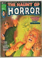 Haunt of Horror #4 Magazine 1974 Fine- 5.5; NEAL ADAMS RARE ART from Marvel!