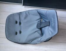 Quinny Buzz 1 st Stage Seat Unit Cover  Memory Foam Grey VGC