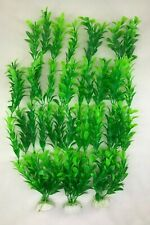 "(5 PACK) 17"" Green Artificial Aquarium Plastic Decoration Plant New Fish Tank"