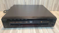 Sony RCD-W500C 5 Disc CD Changer & Recorder No Remote Tested & Works Great