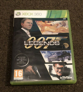 007 legends xbox 360 Game Boxed & Complete With Manual PAL