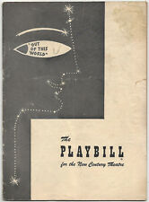 1951 Playbill OUT OF THIS WORLD Charlotte Greenwood William Eythe