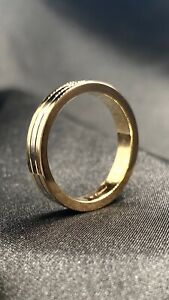 Cartier Tricolor Trinity Wedding Band US Size 10 3/4  Authentic 100%