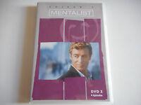 DVD - MENTALIST SAISON 1 / DVD 3 / 4 EPISODES - ZONE 2