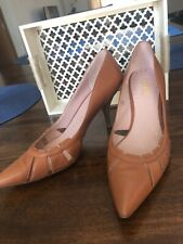 Tyler Richard Shoes Heels Pointy Size 10 Honey Brown