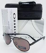 NEW Oakley Feedback sunglasses Black Prizm Daily Polarized 4079-27 Aviator grey