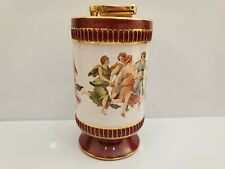 Colibri Working Grecian Fresco Porcelain Lighter Handmade In Italy-Fiorentine 5""