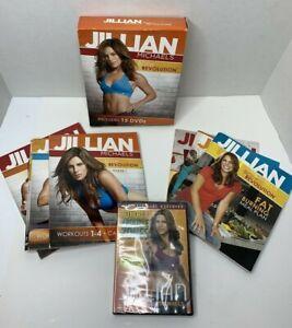 Jillian Michaels Body Revolution Empowered 15 DVDs /Book + No More Trouble Zones
