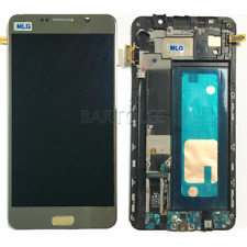 For Samsung Galaxy Note 5 N920F Frame LCD Touch Screen Display Digitizer Gold