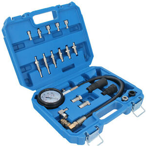 Diesel Moteur Testeur de Compression Compressiomètre Cylindre Jauge 1000 PSI