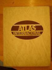 ATLAS INTERNACIONAL Plaza y Janés (1982) * Tapa dura, excelente estado