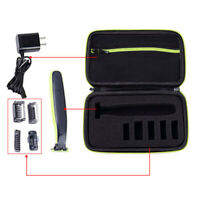 Mens Travel Storage Carrying EVA Hard Case Bag Box FOR Philips OneBlade Shaver