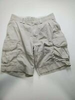 "POLO RALPH LAUREN MEN 33 KHAKI GELLAR FATIGUE CARGO SHORTS HEAVY 9""L"