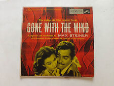 "THE COMPLETE FILM MUSIC OF GONE WITH THE WIND  1954   10"" LP"