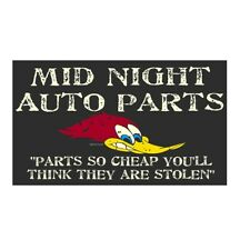 Mid Night Auto Parts sticker decal vintage drag racing sticker decal