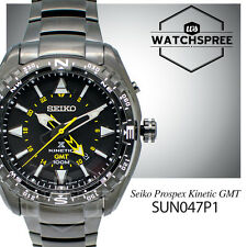 Seiko Prospex Kinetic GMT Watch SUN047P1