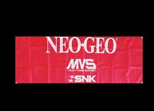 LARGE NEO GEO MVS SNK Arcade Video Game Banner Flag Poster