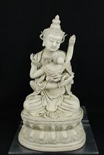 China Tibet antique happy Buddha concubine statue artist seal cir1900s