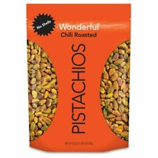 HOT Wonderful Pistachios No Shells Chili Roasted 22oz Pouch Free Shipping