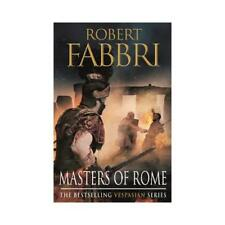 Masters of Rome by Robert Fabbri (author)