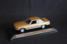 Minichamps Mercedes-Benz 450 SLC 1974 1:43 Gold Metallic (JS)