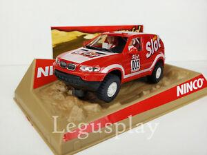 "Scx Scalextric Slot Ninco 50361 BMW X5 "" Mas Slot """