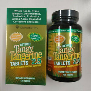Youngevity Dr. Wallach Beyond Tangy Tangerine BTT 2.5 Tablets