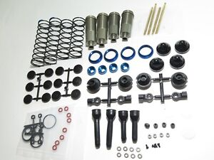 ASC80944 TEAM ASSOCIATED RC8 T3.2E TRUGGY FRONT AND REAR SHOCKS SET