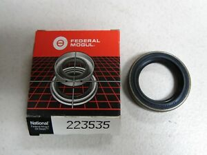 National 223535 Wheel Seal fits BMW, Chrysler, Chevrolet, Triumph 1978-2008