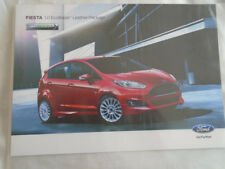 Ford Fiesta 1.0 Ecoboost Leather Package brochure 2015 Japanese text